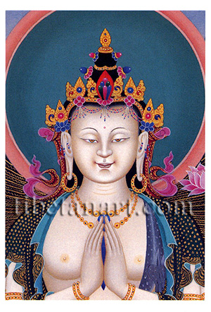 Face Of Avalokiteshvara