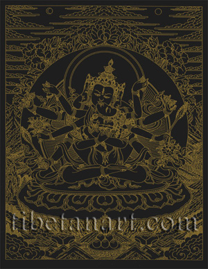 Samayavajra [Gold on Black]