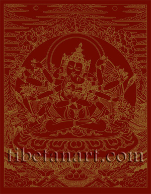 Samayavajra [Gold on Red]