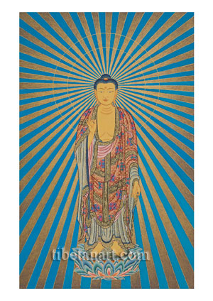 Amitabha Radiating Light