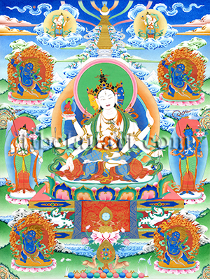 Usnisavijaya Nine-Deity Assembly