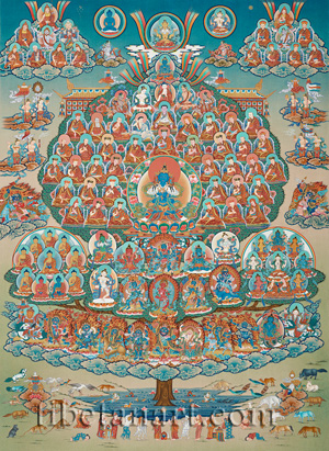 Karma Kagyu Refuge Tree