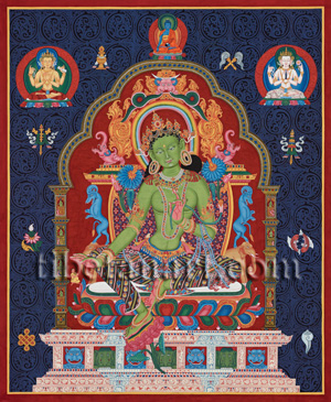 Green Tara (Early Newar)