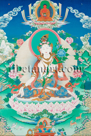 White Tara (Wish-Fulfilling Wheel)