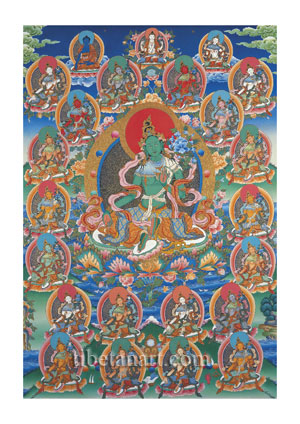 Twenty-one Taras of the Longchenpa Tradition