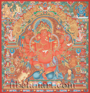 Great Red Ganapati