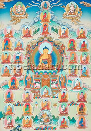 Buddhas And Bodhisattvas Artwork at Tibetan Art