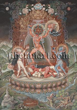 Mahavidya Goddesses Artwork at Tibetan Art