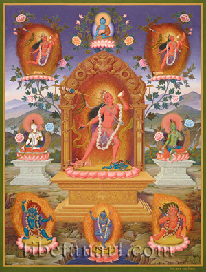 Vajrayogini and Deities