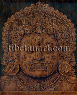 Wooden Mask of Bhairava