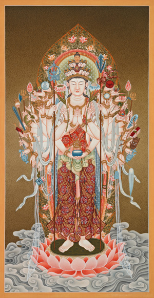 Forty-two Armed Avalokiteshvara