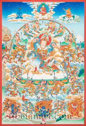 Yidam And Wrathful Deities Artwork at Tibetan Art