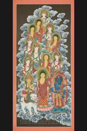 Thirteen Deities of the Shingon Tradition