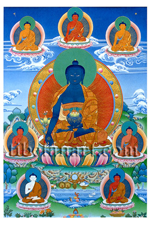 The Eight Medicine Buddhas